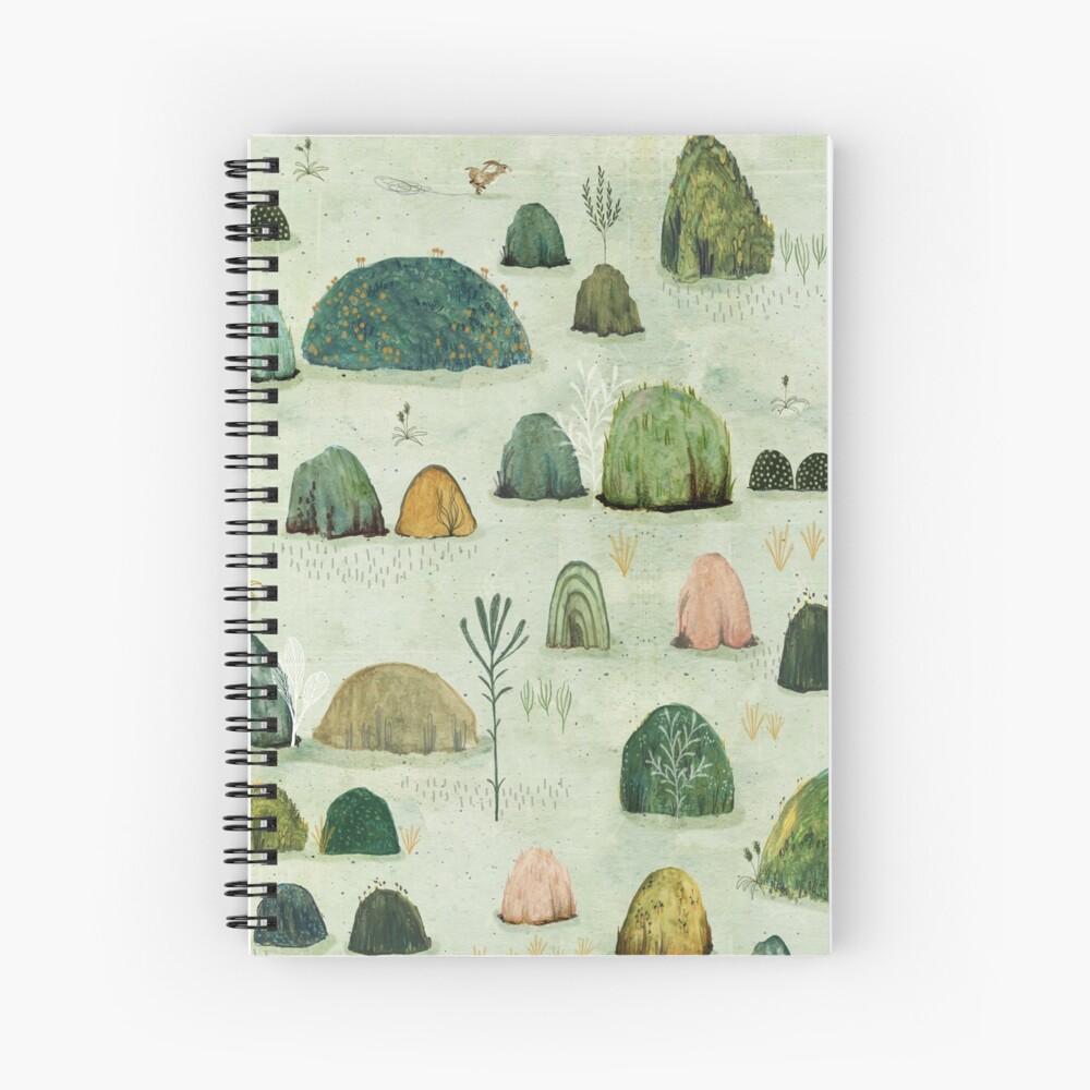 Mossy Hills Spiral Notebook