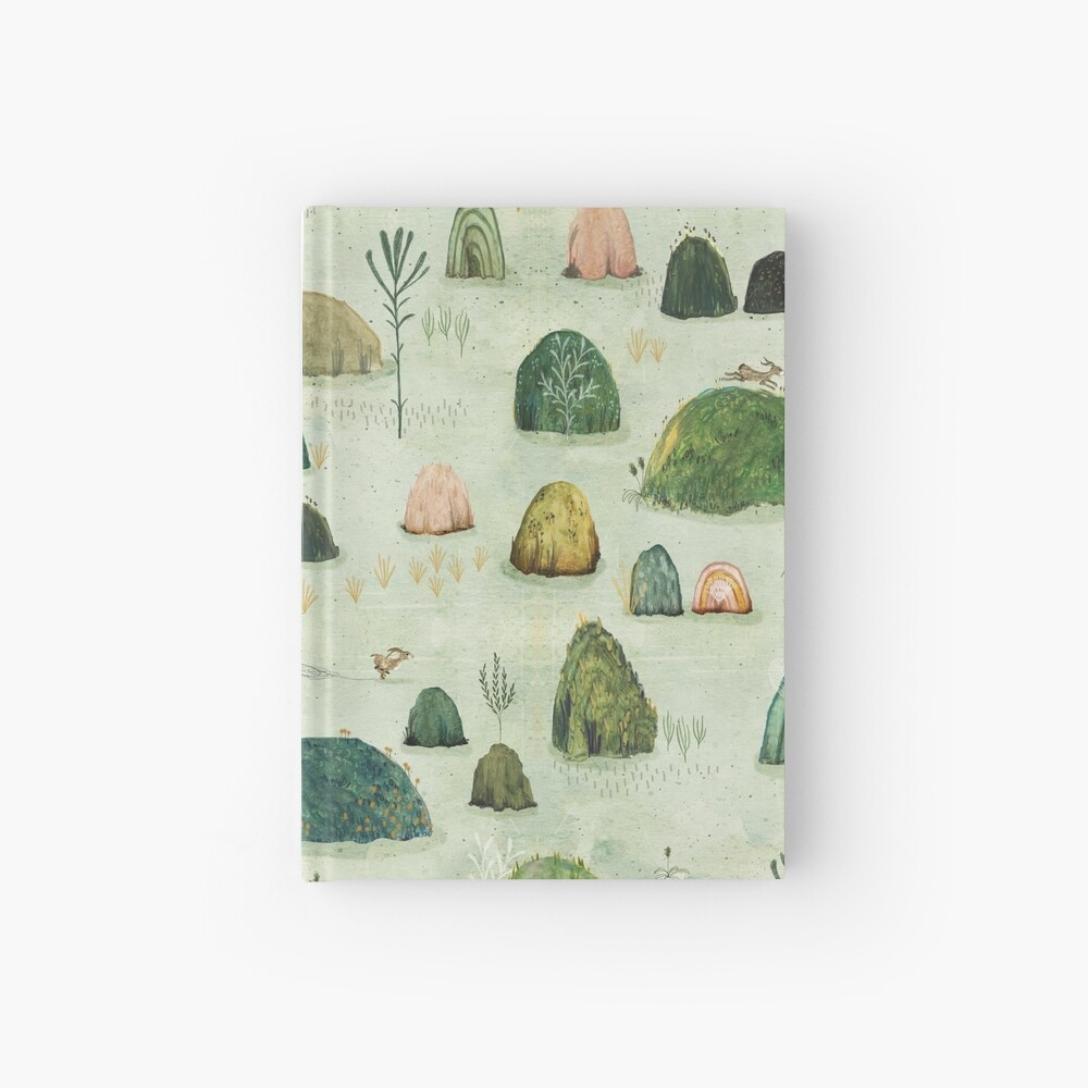 Mossy Hills Hardcover Journal