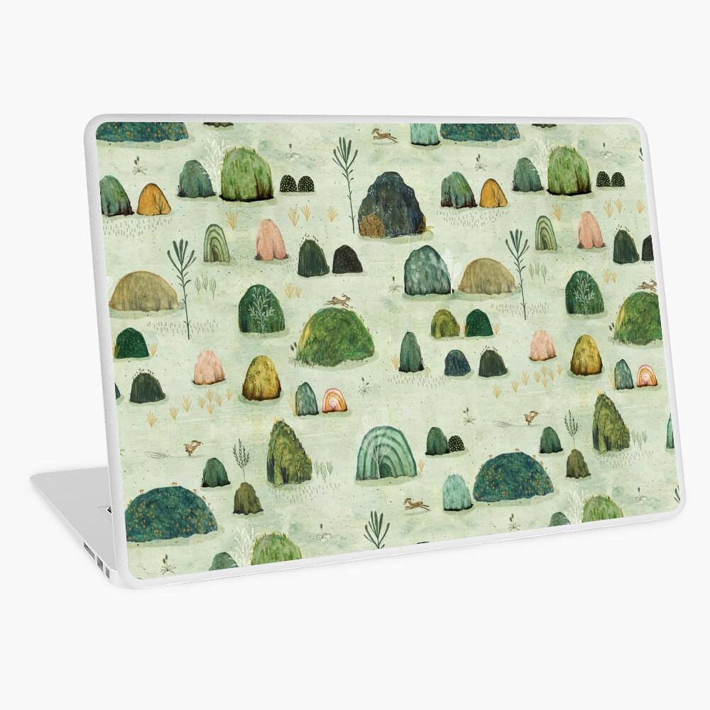 Mossy Hills Laptop Skin
