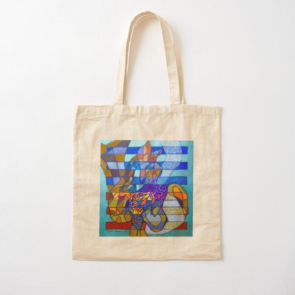 Hexagram 49: Gé (Transformation) Cotton Tote Bag