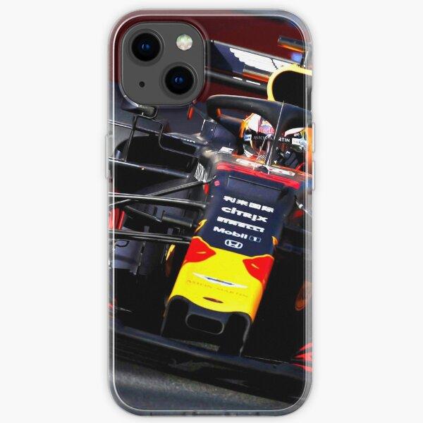 Max Verstappen beim Grand Prix in Baku 2019 iPhone Flexible Hülle