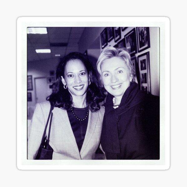 Kamala Harris and Hillary Clinton Sticker