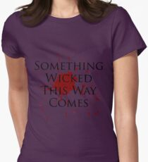 Something Wicked Womens Fitted T-Shirt