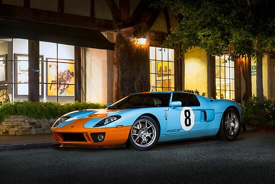 Gulf Ford GT by David Coyne