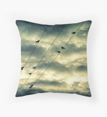 Stormy Skies.. Throw Pillow