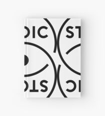Stoic S Symbol - Stay Stoic! Hardcover Journal