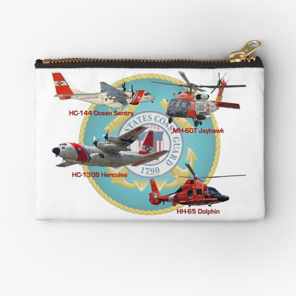 Eyes of the United States Coast Guard Zipper Pouch