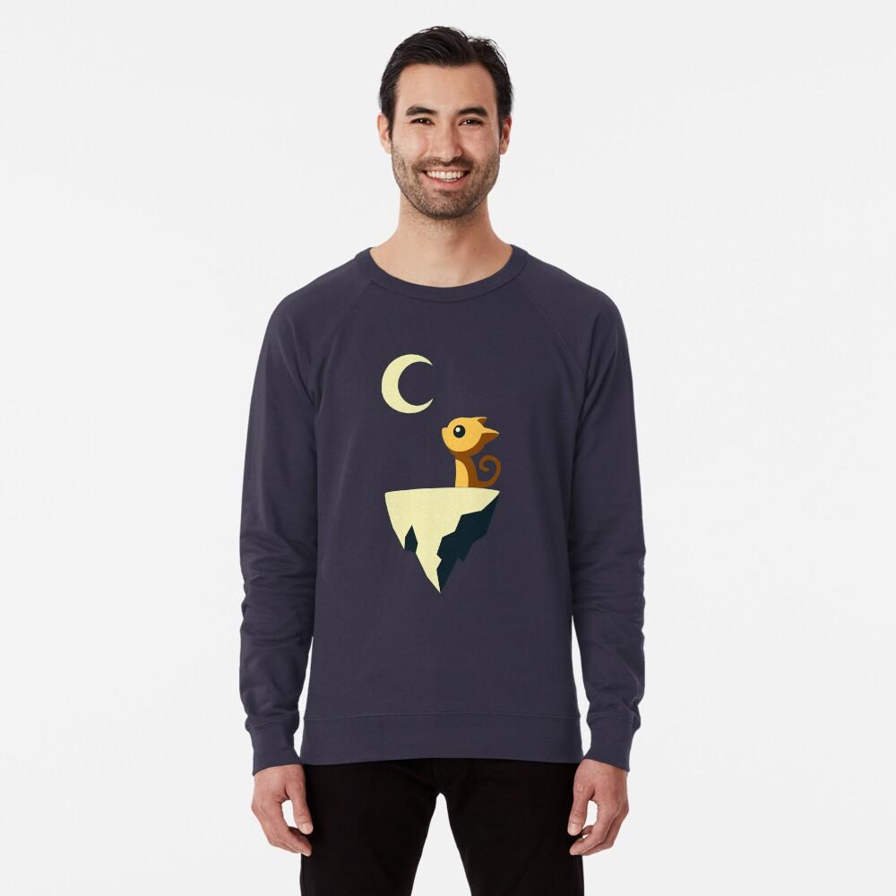 Mond Katze Leichter Pullover