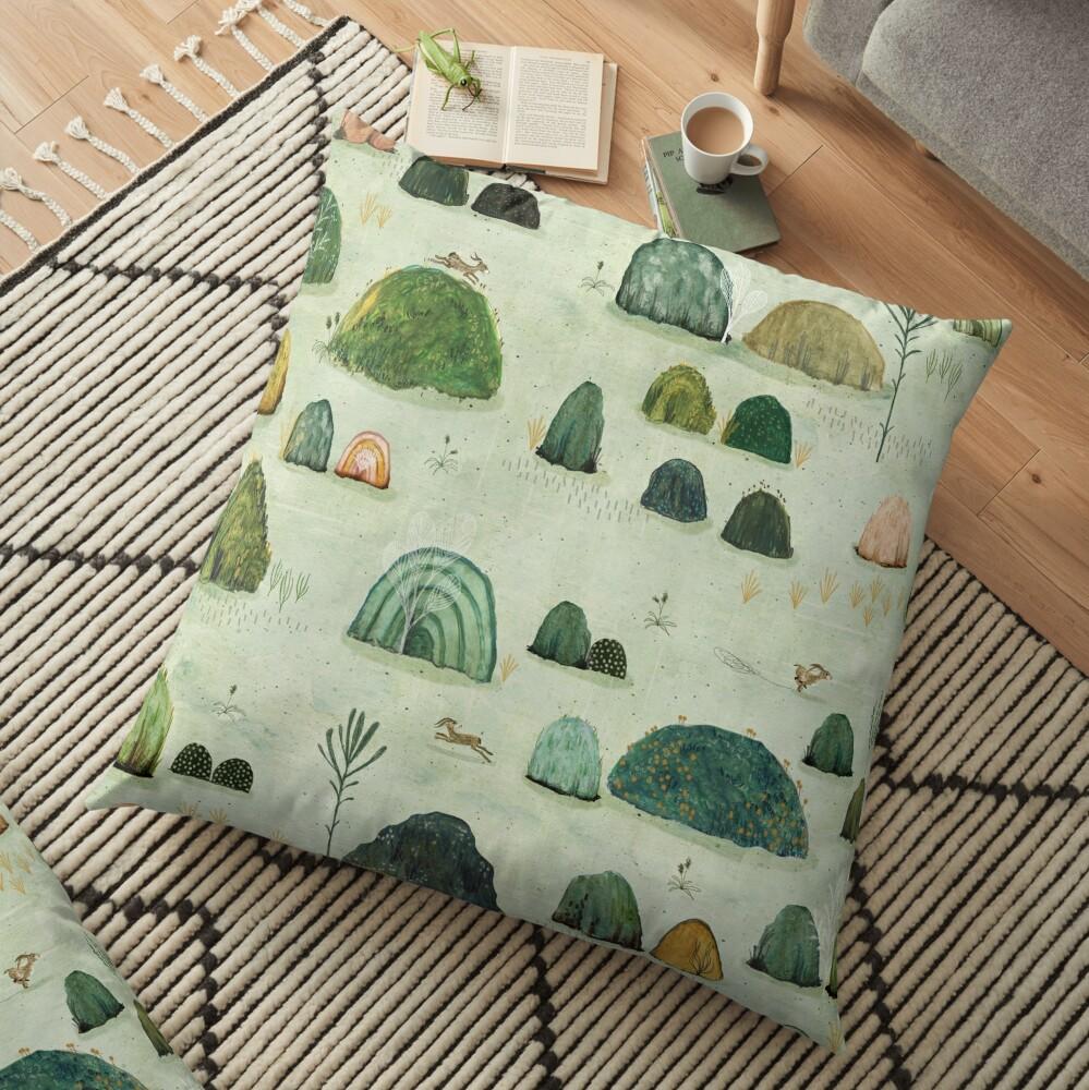 Mossy Hills Floor Pillow