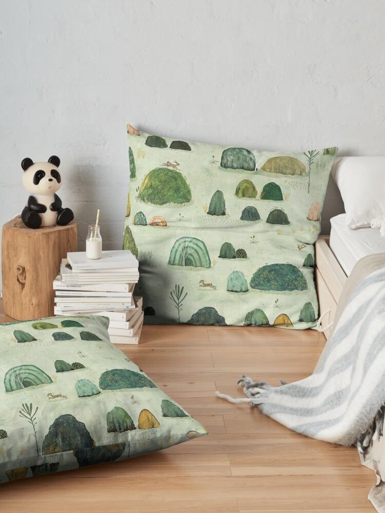 Alternate view of Mossy Hills Floor Pillow