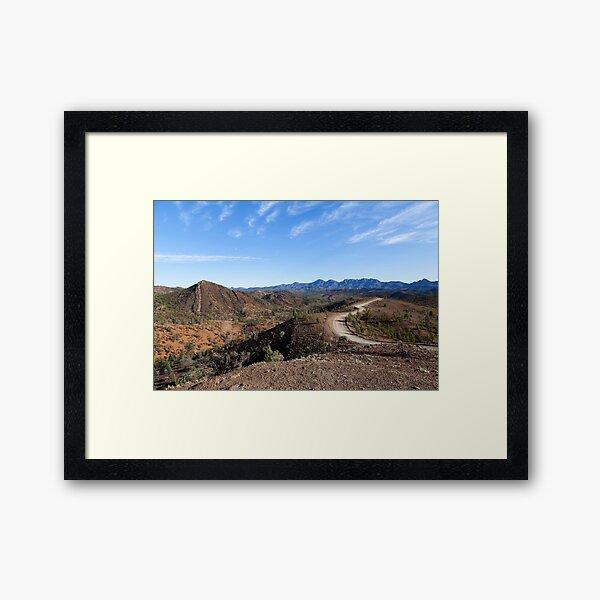 Bunyeroo Valley 1 Framed Art Print