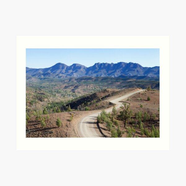 Bunyeroo Valley 2 Art Print