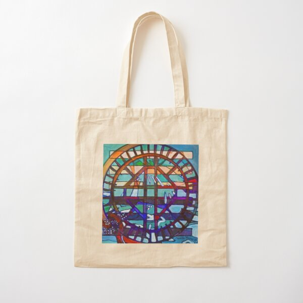 Hexagram 53: Jiàn (Replenish) Cotton Tote Bag
