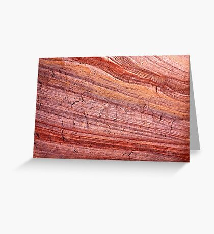 crackling skin in the wind Greeting Card
