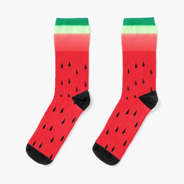 Watermelon Stripes Socks