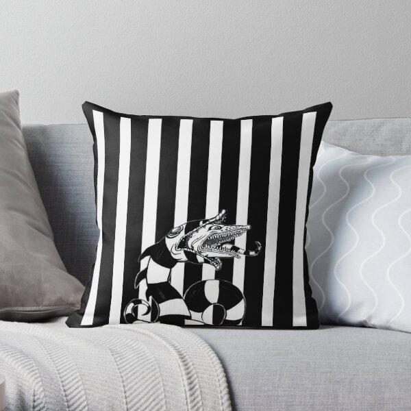 Beetlejuice Sandworm Throw Pillow