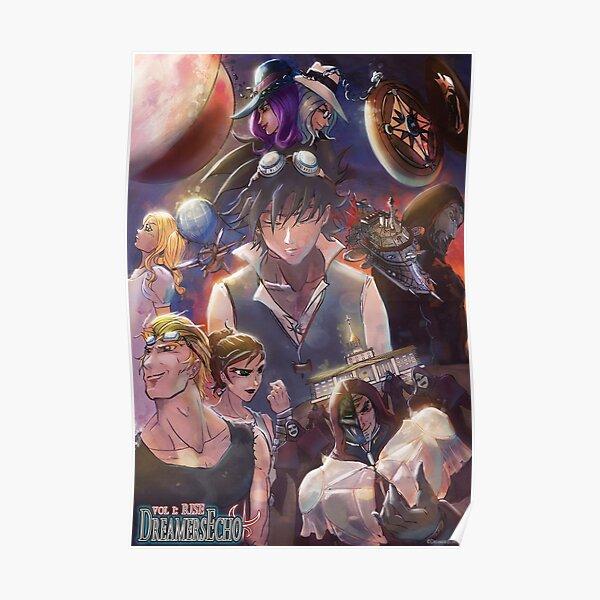 DreamersEcho Vol.I: RISE Cover Art Poster