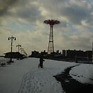 Parashoot Jump Coney Island by andytechie