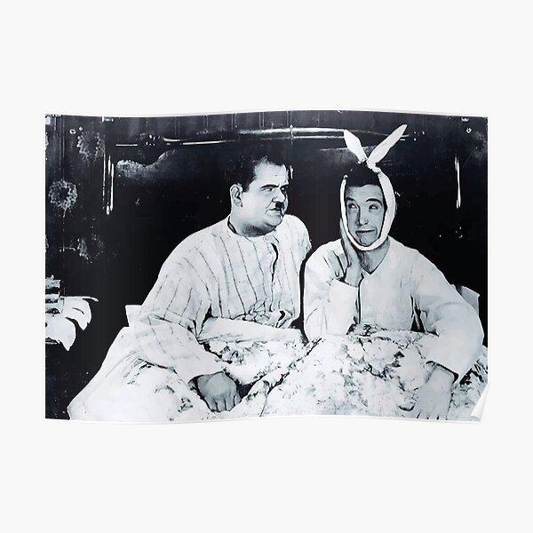 Laurel & Hardy (Vector) Poster