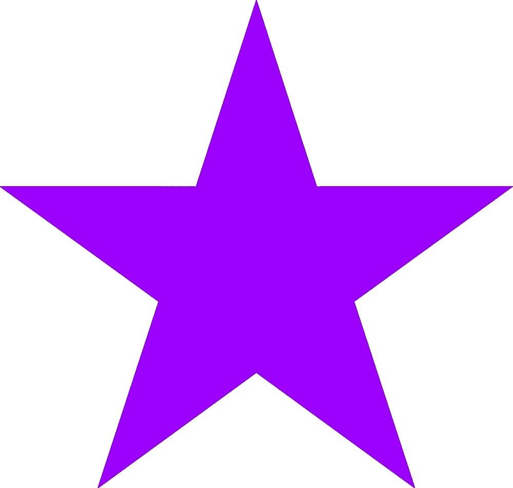 Purple star by rachelshade