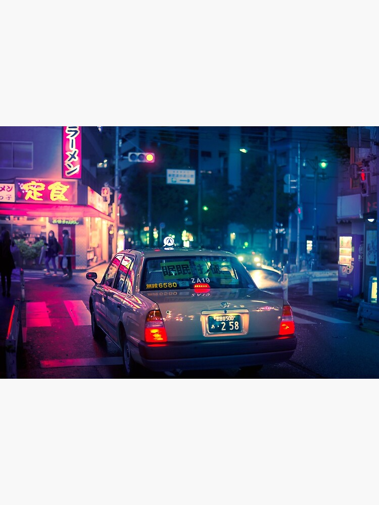 Late night taxi ride by TokyoLuv