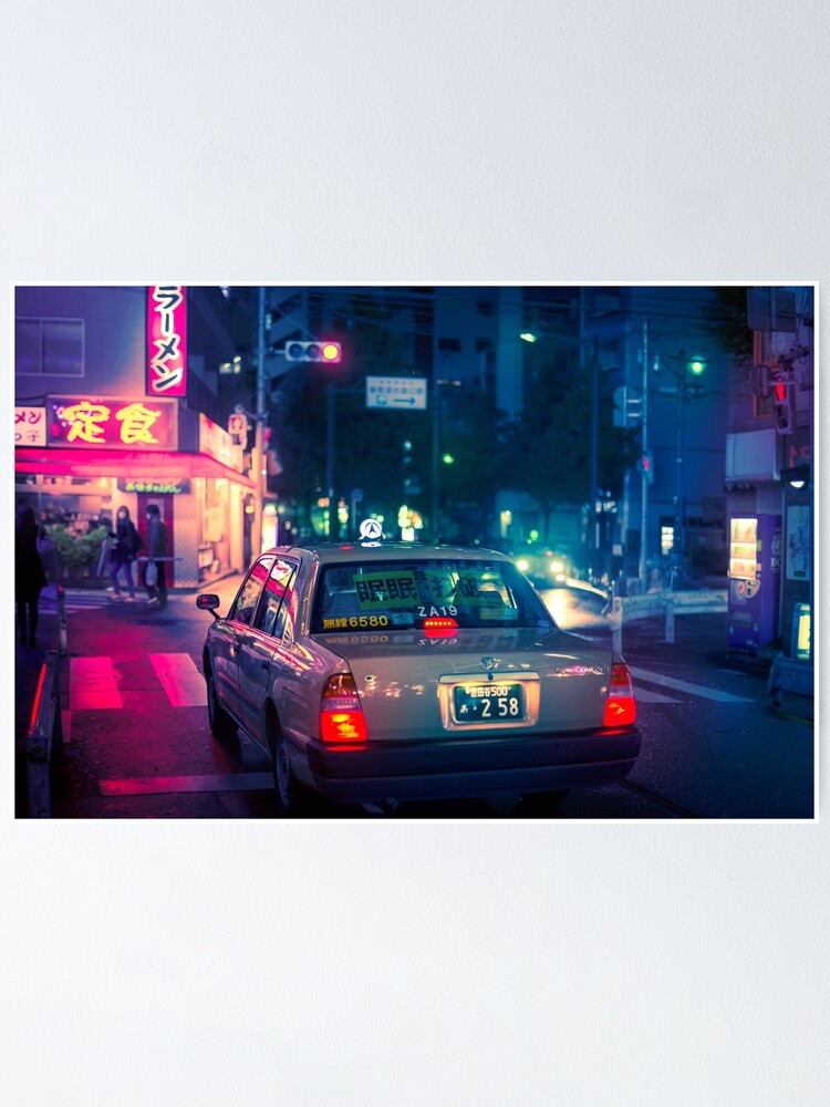 Alternate view of Late night taxi ride Poster