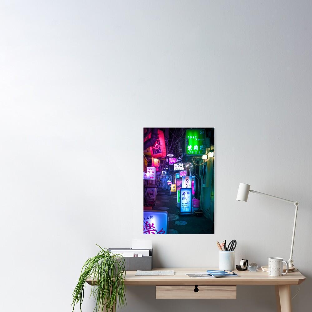 Neon Overload Poster
