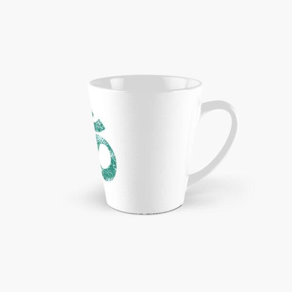 OM Yoga Spiritual Symbol in Distressed Style Tall Mug