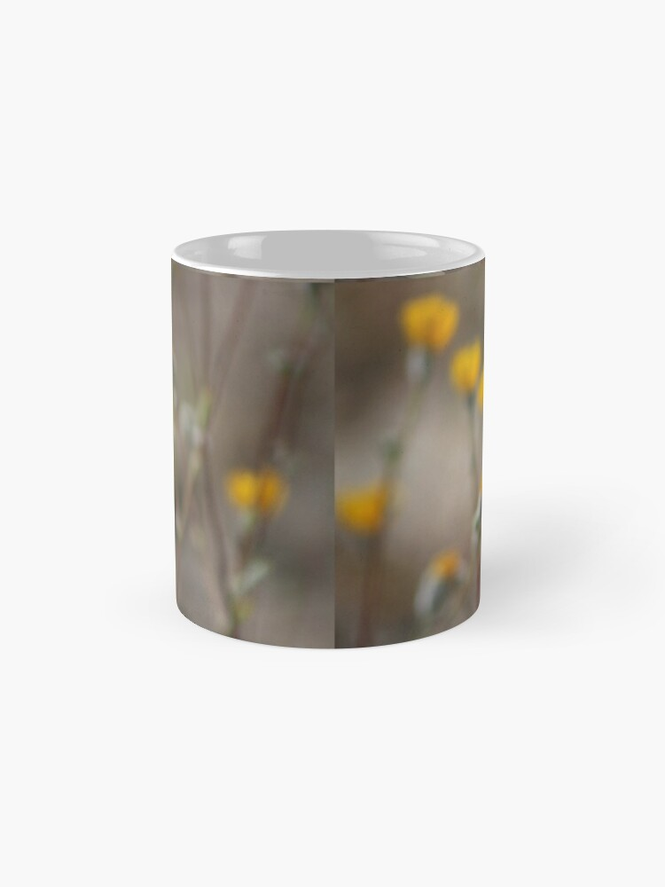 Alternate view of Closeup Desert Sunflowers Coachella Wildlife Preserve Mug