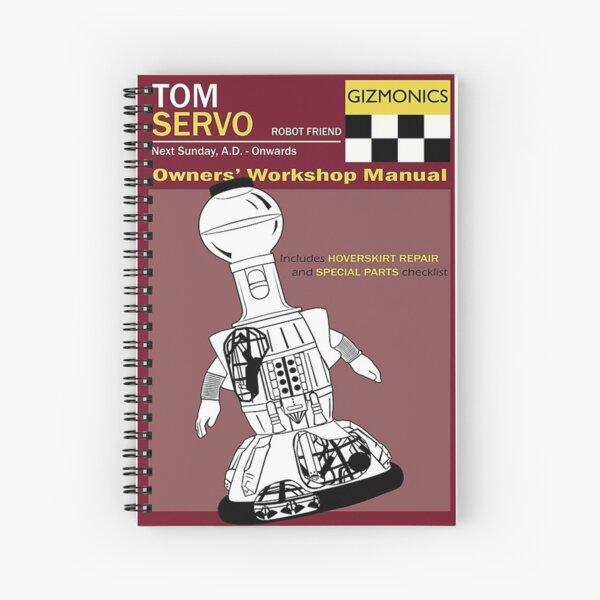 Servo Workshop Manual     Spiral Notebook