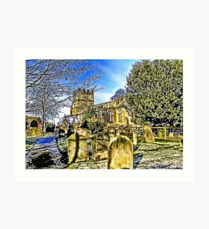 The Parish Church - Easingwold,North Yorkshire Art Print