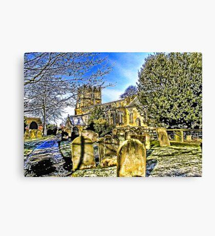 The Parish Church - Easingwold,North Yorkshire Canvas Print
