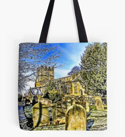The Parish Church - Easingwold,North Yorkshire Tote Bag