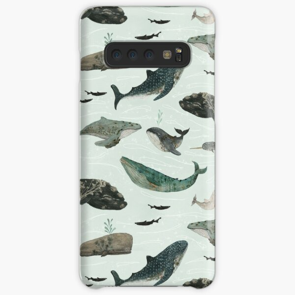 Tattooed Whales Samsung Galaxy Snap Case