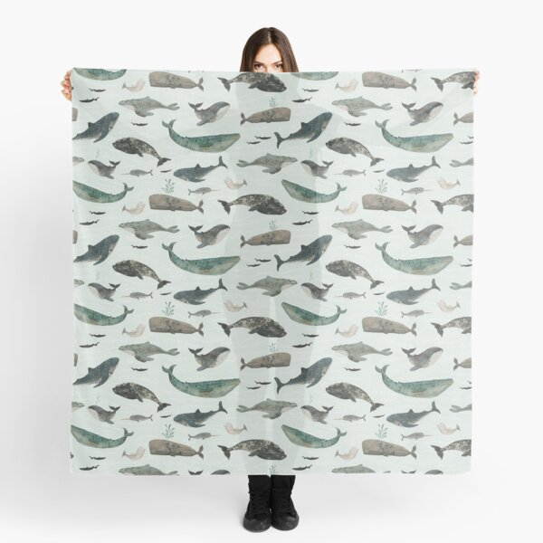 Tattooed Whales Scarf