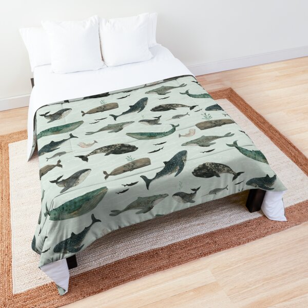 Tattooed Whales Comforter