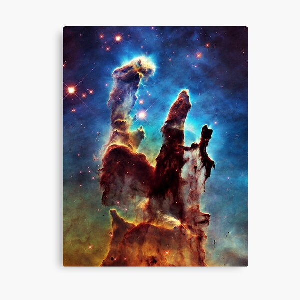 Pillars of Creation Canvas Print