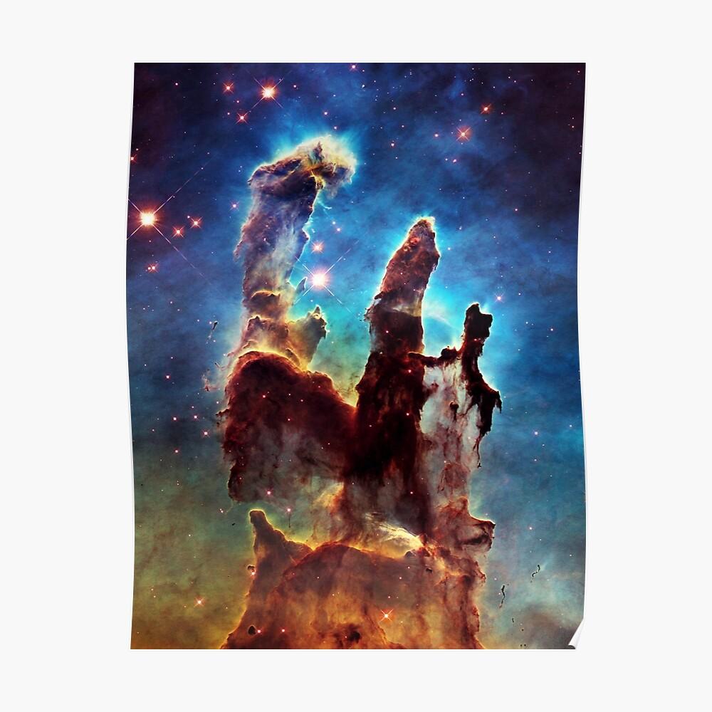 Säulen der Schöpfung Poster