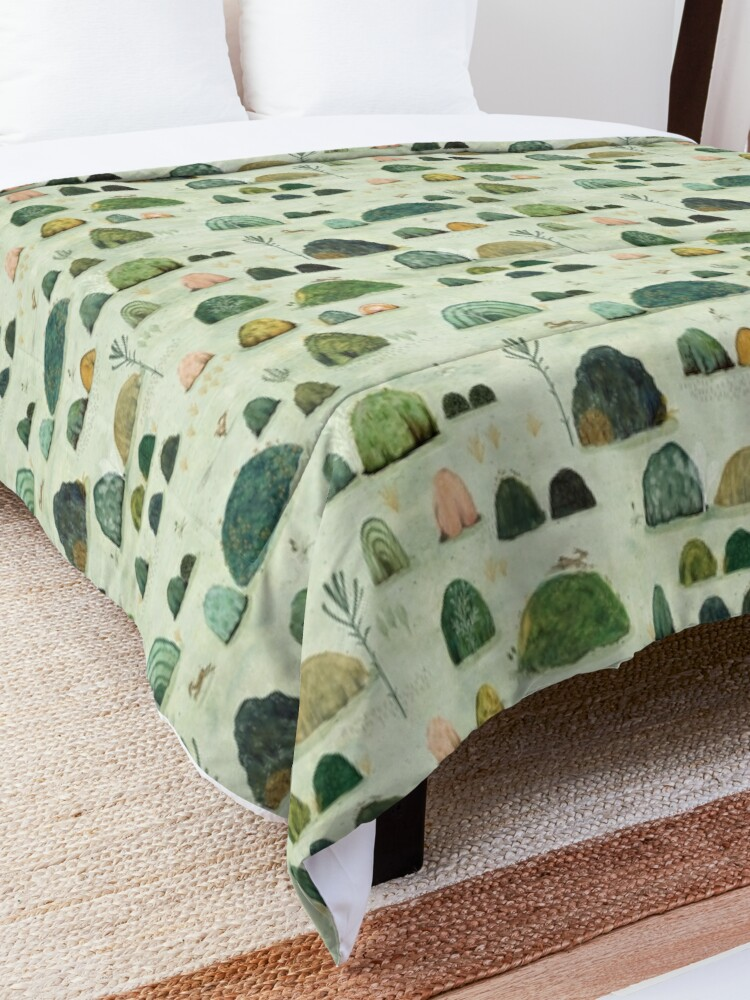 Alternate view of Mossy Hills Comforter