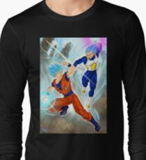 Dragon Ball Super - Goku & Vegeta Design Long Sleeve T-Shirt