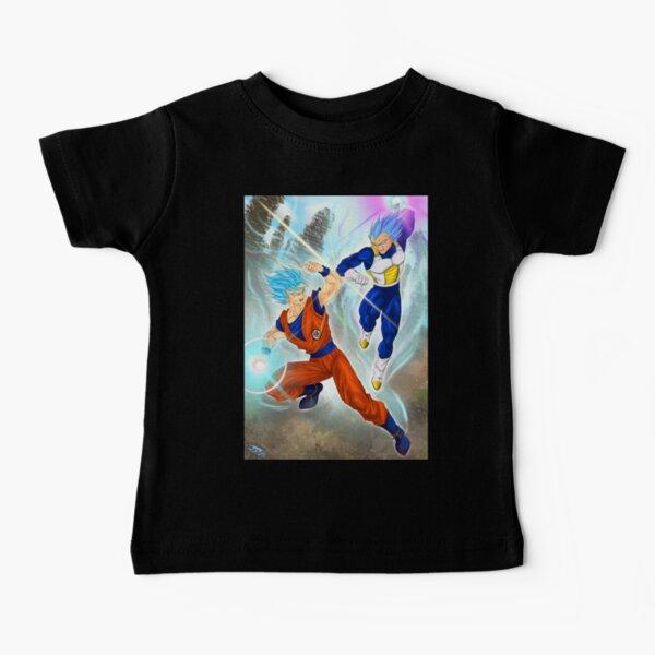 Dragon Ball Super - Goku & Vegeta Design Baby T-Shirt