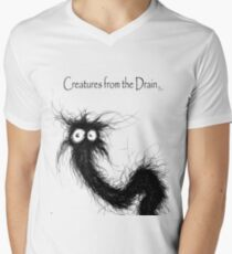 creature from the drain 2 Men's V-Neck T-Shirt