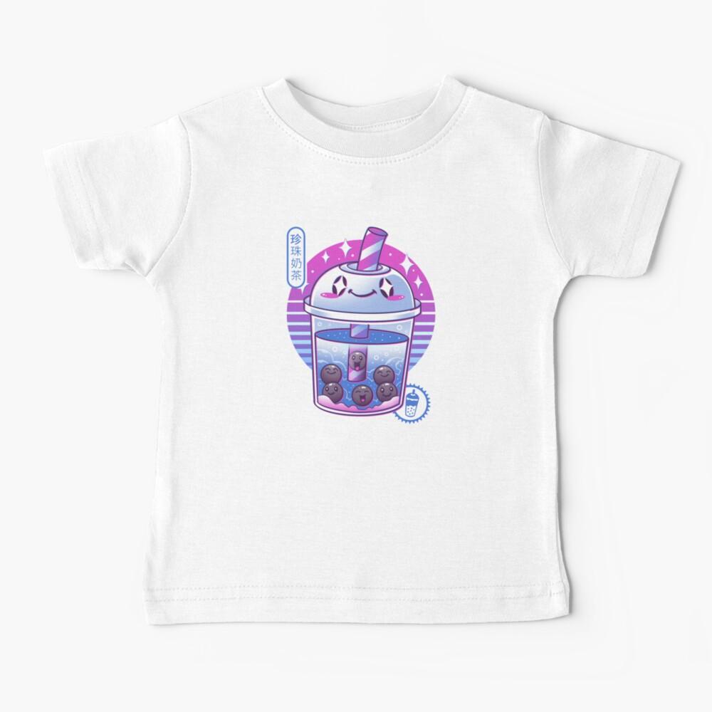 Boba Wave Tea Baby T-Shirt