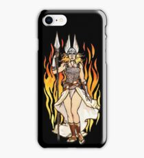 brunhilde pin-up iPhone Case/Skin