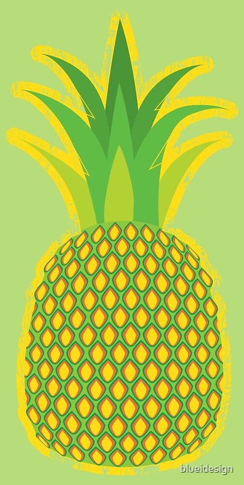 Pineapple Fruit Summer Grunge by blueidesign