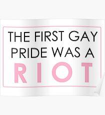 Riot Pride #1 Poster