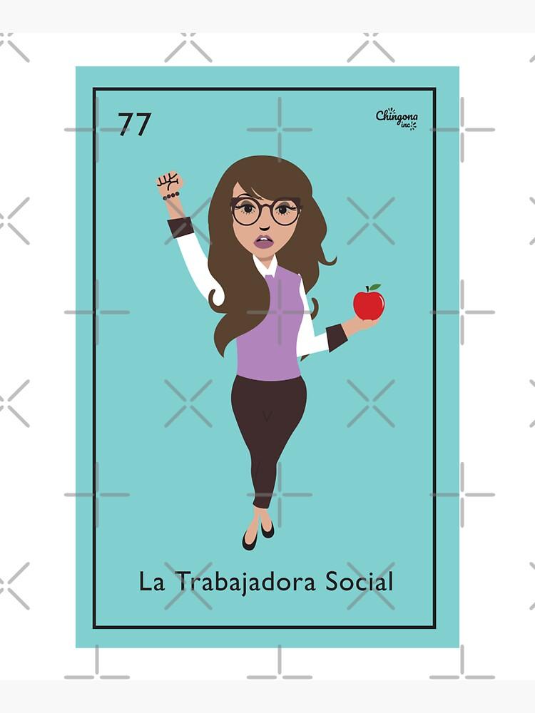 La Trabajadora Social No Apple by vosio