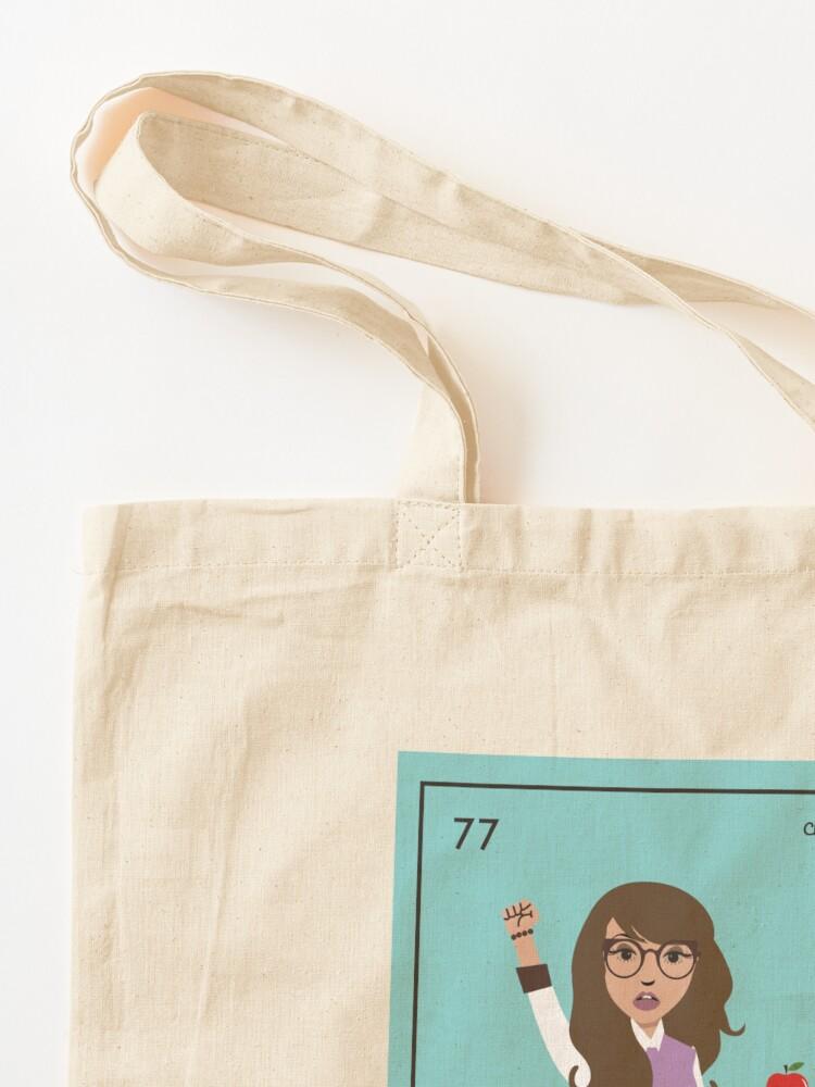 Alternate view of La Trabajadora Social No Apple Tote Bag