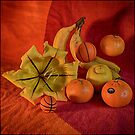 Still life with two basketballs by andreisky