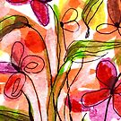 Flowers in a Vase 1.A by Janette  Leeds